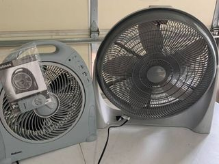 Set of two fans