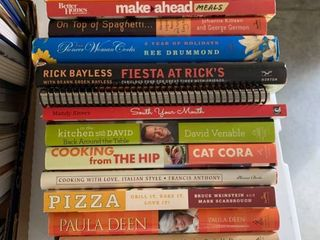 Assorted cookbooks