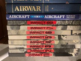 Assorted books  aviation