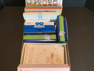 Envelopes and greeting cards