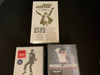Michael Jackson collection  Some never opened