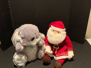 Set of two stuffed toys