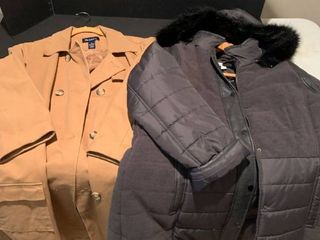 Set of two ladies coats size large and xl