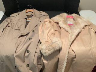 Set of two london Fog coats size 10 reg and 42 long