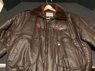 CIA bomber jacket size xl