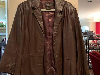 leather jacket size 1X