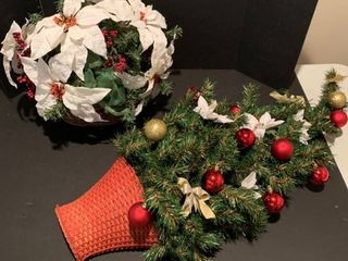 Assorted Christmas decorations