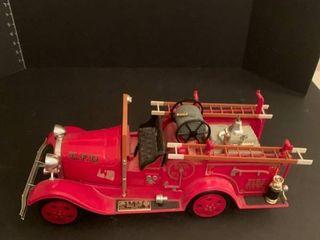 Fire engine liquor bottle