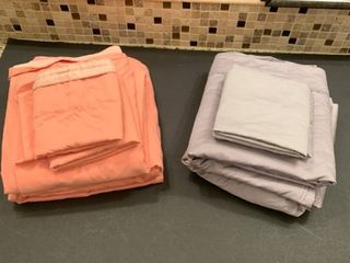 Set of two full size sheet sets