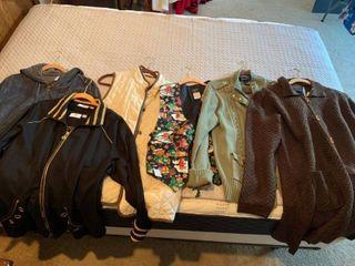 ladies jackets and vests clothing medium large