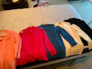 ladies cold shoulder sweaters medium large