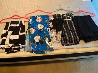 ladies pants and a skirt medium large