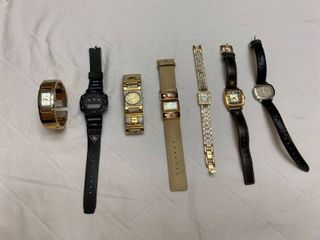 Set of seven watches