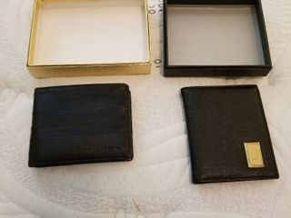 Mens wallets new set of 2