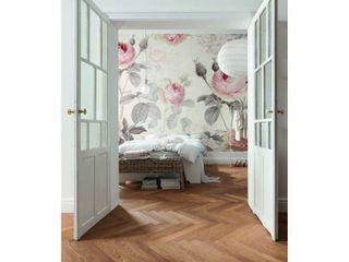Komar XXl4 034 Modern la Maison Wall Mural  Pink