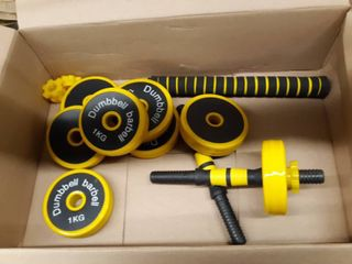 Adjustable Dumbell Barbell Kit