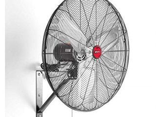 oemtools 30  oscillating black wall mount fan  new model