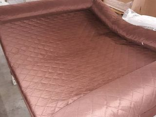 Jumbo Maroon Dog Bed