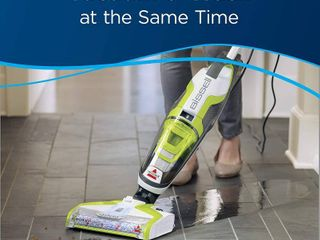 BISSEll Crosswave All in One Wet Dry Vacuum Cleaner and Mop for Hard Floors and Area Rugs  1785A  Green