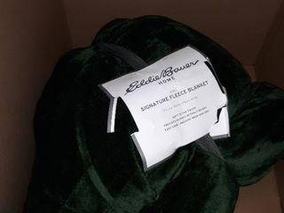Eddie Bower Home King Signature Fleece Blanket