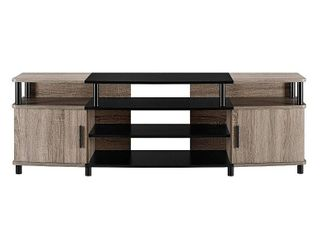 Ameriwood Home Carson TV Stand for TVs up to 70  Multiple Colors