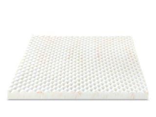Zinus Swirl Copper Cooling 3 Inch Queen Memory Foam Mattress Topper  White