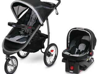 Graco Fastacion Jogger Travel System with Snugride 35