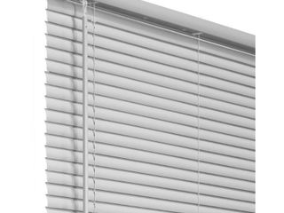 Chicology Gray Cordless Room Darkening Vinyl Mini Blind with 1 in  Slats 69 in  W x 48 in  l  Gray  Commercial Grade