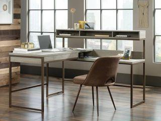 Sauder Manhattan Gate l Shaped Desk  Mystic Oak Finish