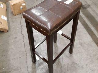 Decorative leather Stool