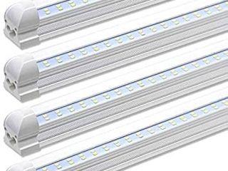 4 Pack 8 Ft lED light Bar Kit