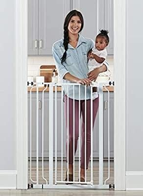 Balancefrom Easy Walk thru safety Gate For Doorways And Stairways With Auto c