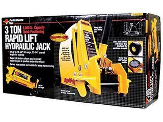 Performance Tool W1616 Rapid lift Jack   3 Ton Capacity
