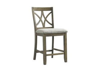 Chadwick Collection 5019 55 2 Counter Height Stool in Brown