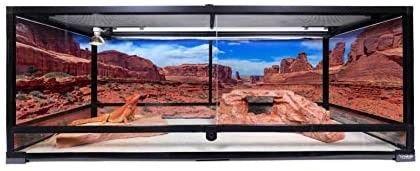 Carolina Custom Cages Terrarium Extra long 48x18x18 Retail   529 99