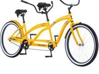 Kulana lua Tandem Adult Beach Cruiser Bike  26 Inch Wheels  Single to 7 Speeds Retail   1 187 48