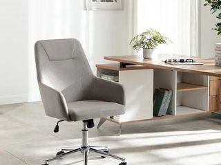 Home Office Swivel Desk Task Chair   Grey