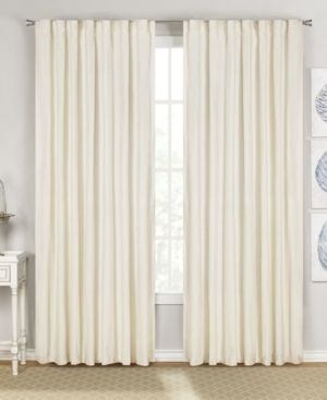 Rivas 54  x 95  Velvet Curtain Set