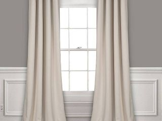 lush Decor 52  x 108  Blackout Curtain Set