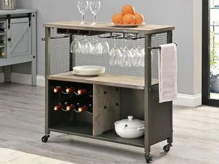 FirsTime   Co Ar Chandler Farmhouse Kitchen Cart