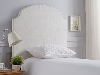 Twin DIY HEADBOARD   BEVElED CORNER CURVE Product Code DC DIY HB CORNERCURV