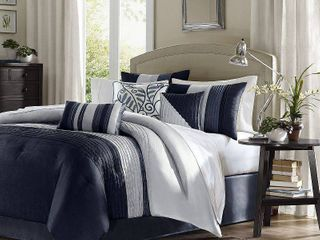 Home essence Salem 7 Piece Pieced Bedding Comforter Set