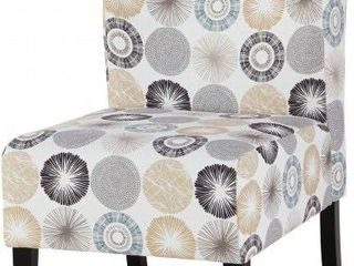 Triptis Gray and Tan Accent Chair