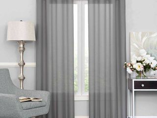 Eclipse liberty light Filtering Sheer Curtain