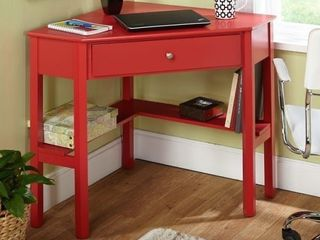 Porch   Den lincoln corner desk red
