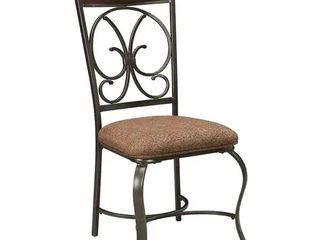 Glambrey Brown Traditional Dining Room Chair  Set of 4