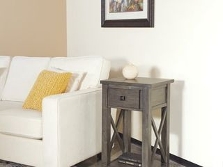 Hillsboro Side Table Gray Wash   OSP Home Furnishings