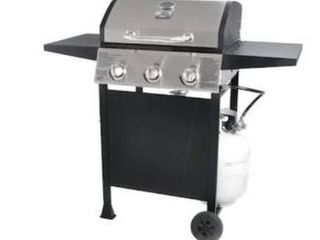 Blue Rhino Gas Grill  Missing Stand  Has dents