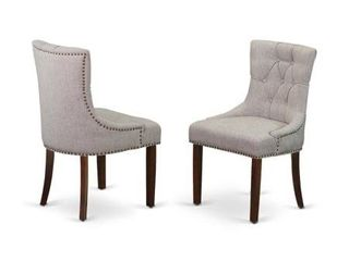 Friona Pair of Parson Chairs