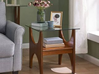 Carson Carrington Esbo Dark Sienna End Table